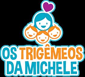 Os Trigêmeos da Michele - mobile logo