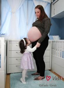 grávida de trigêmeos