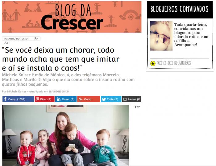 blog da Crescer