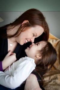 dilemas da maternidade - mamãe e filha