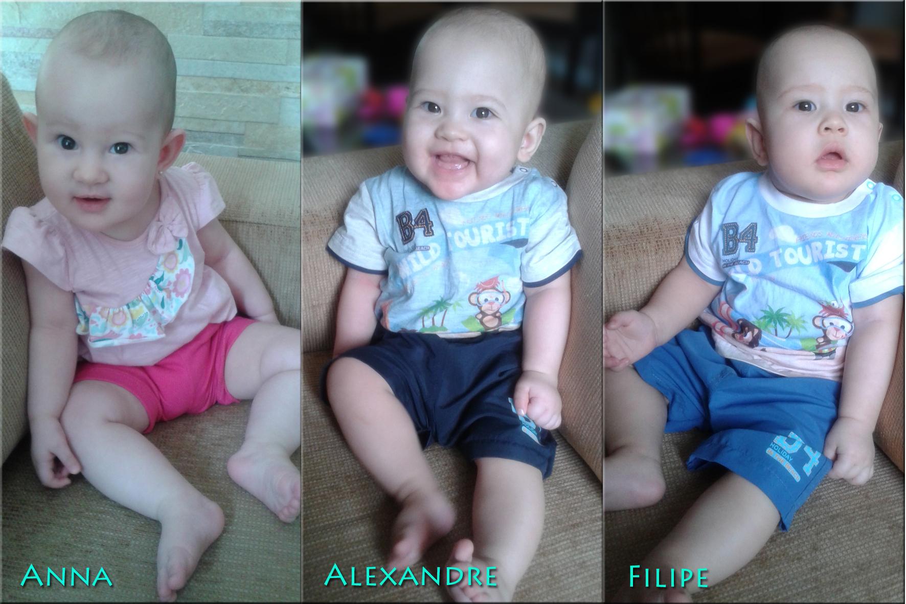 Trio - 8 meses