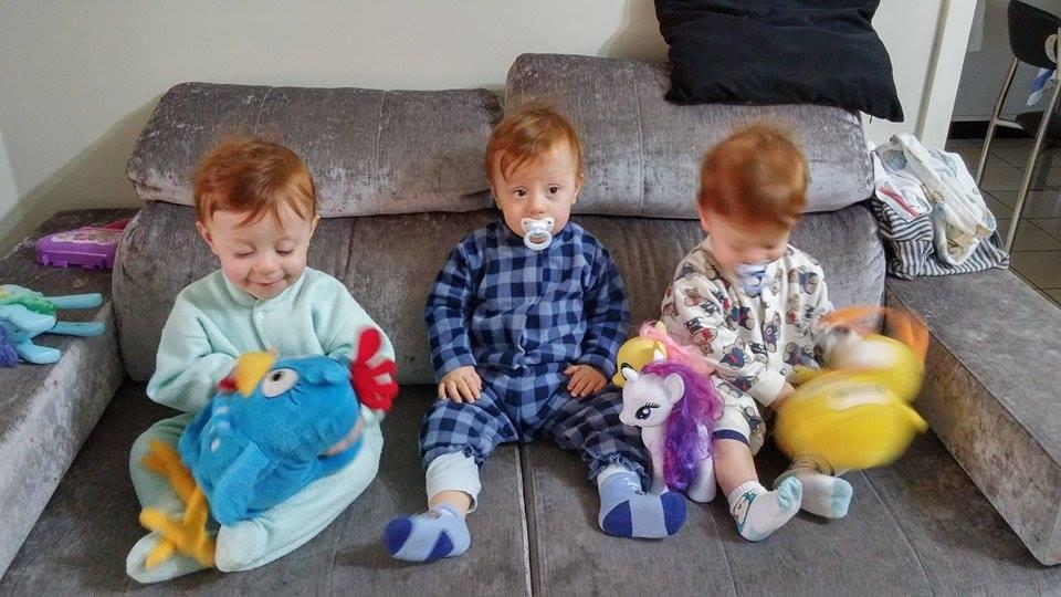 trio de pijama