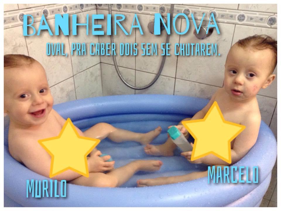múltiplos - banho em dupla