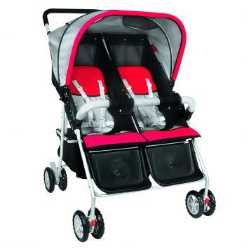 carrinhos de bebê que usamos para gêmeos