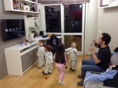 atividades para crianças de 2 anos - bolha de sabão