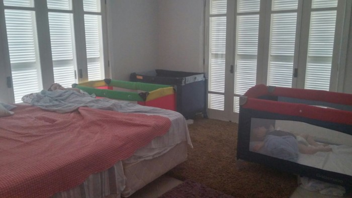 Nosso quarto.
