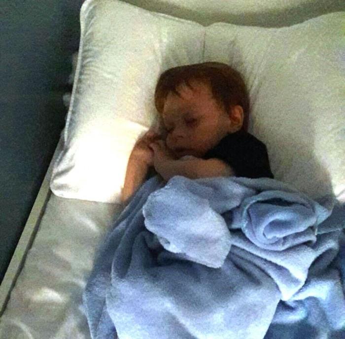 Murilo dormindo