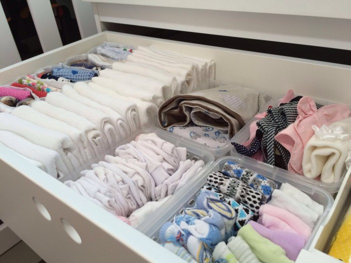 quartinho do bebê roupas