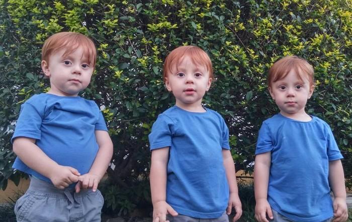 Murilo, Matheus e Marcelo