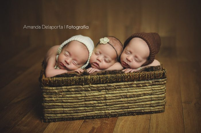 trigêmeos da Larissa ensaio newborn