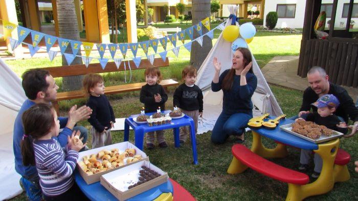 festa de aniversário dos trigêmeos