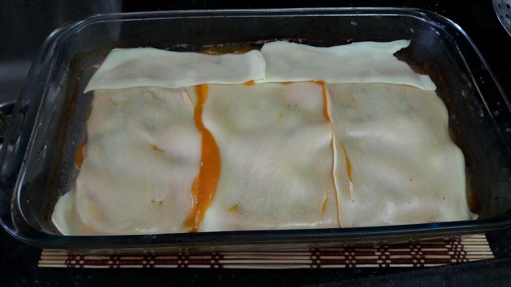 bife à parmegiana de carne moída