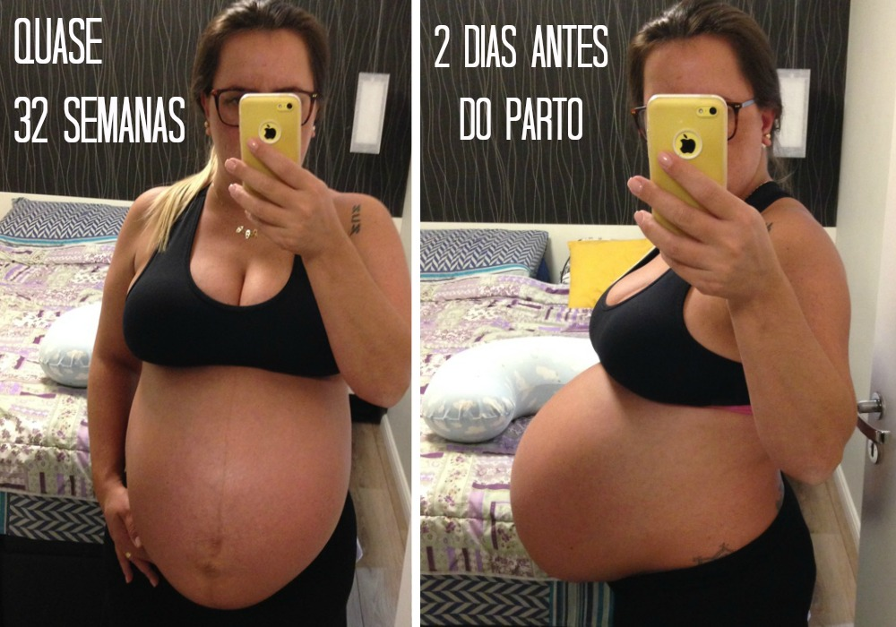 trigêmeos da Fabiana - barrigão 32 semanas