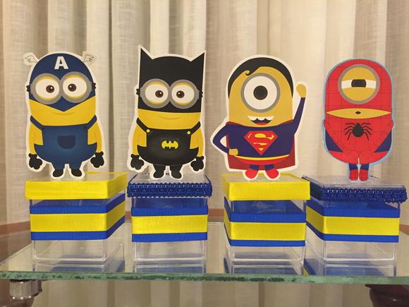 festa Minions superherois