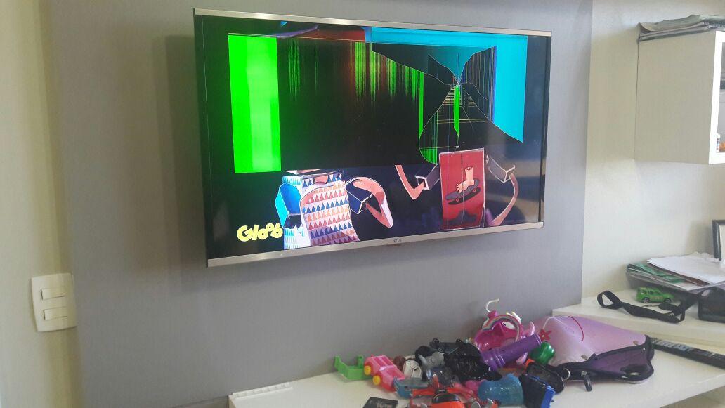 meus filhos quebraram a TV