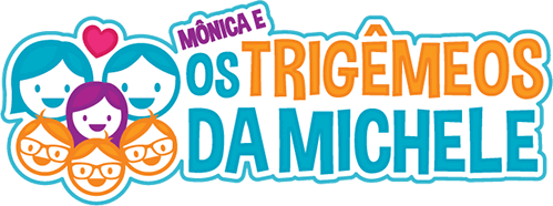 Os Trigêmeos da Michele - logo
