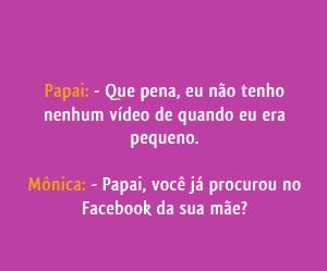 Facebook da sua mãe