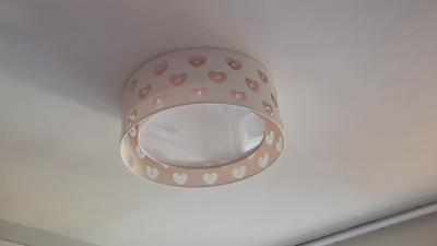 quarto novo da Mônica - lustre
